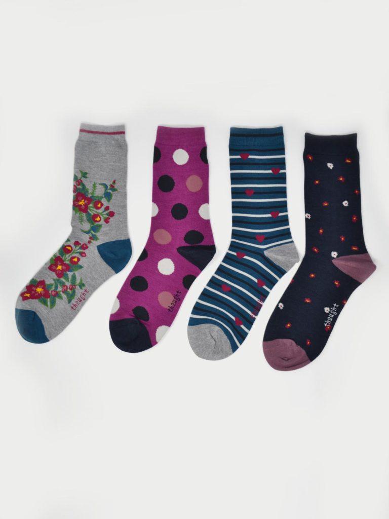 Thought dárkové balení dámských ponožek mariot