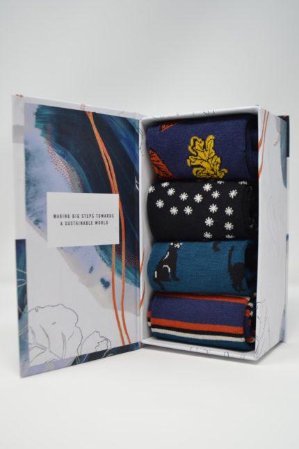 Thought dárkové balení dámských ponožek petronille
