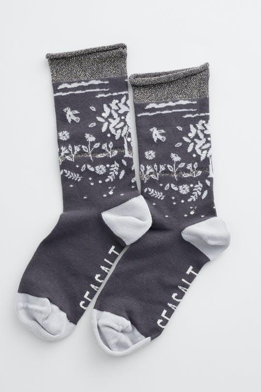 snowy scenes socks sowing seeds coal