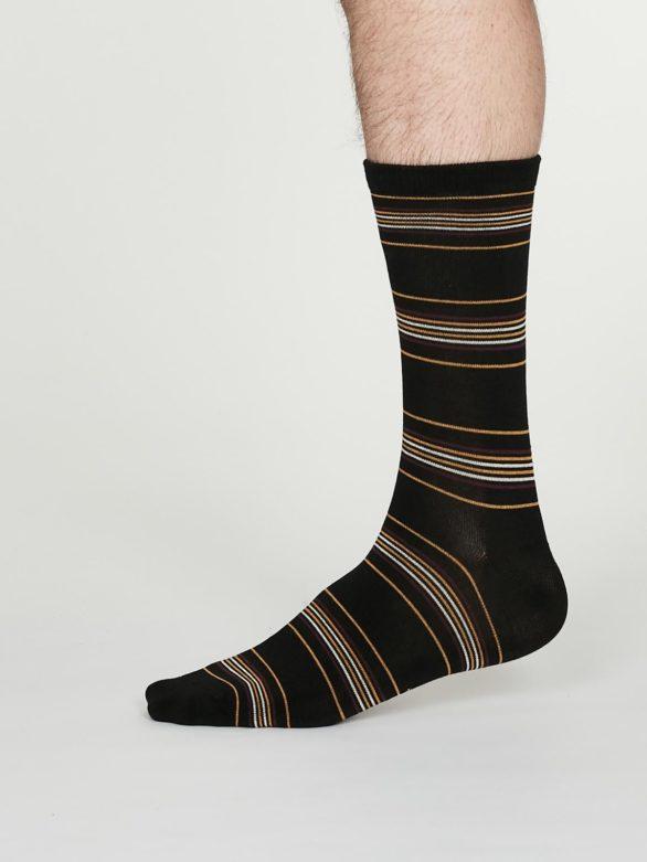 Thought pánské bambusové ponožky nicolson černé