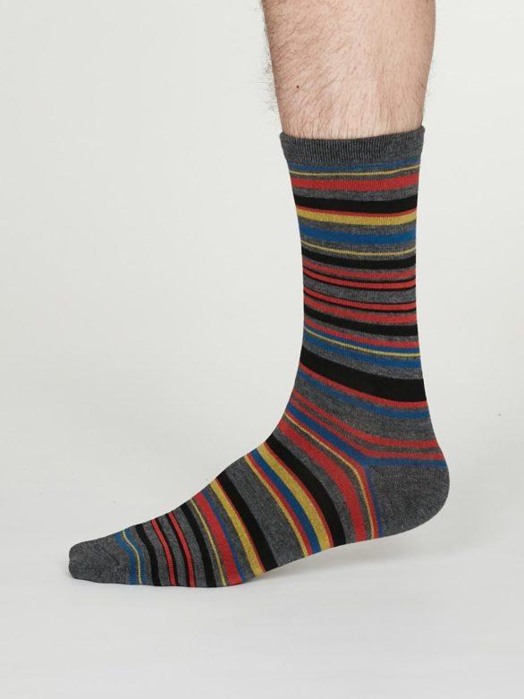 Thought pánské bambusové ponožky carlo šedé