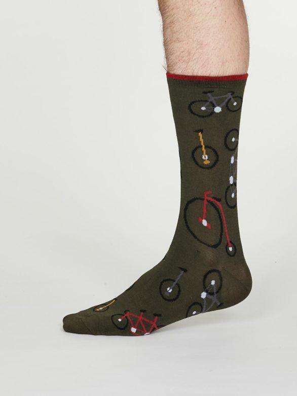 Thought pánské bambusové ponožky julian šedé