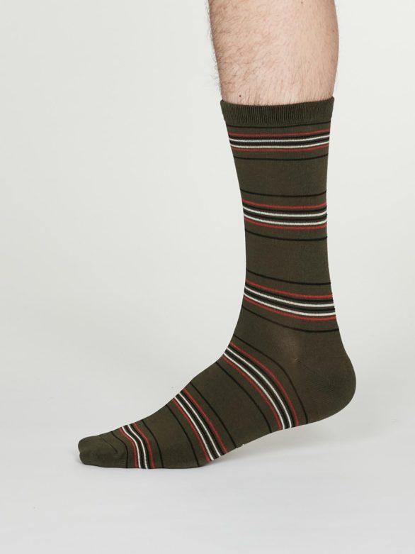 Thought pánské bambusové ponožky nicolson šedé