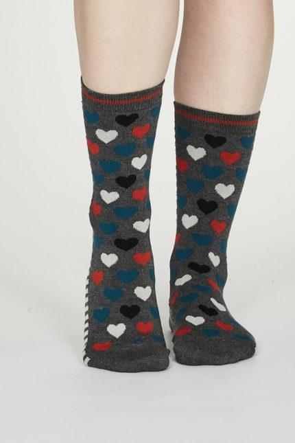 Thought dámské bambusové ponožky eileen šedé