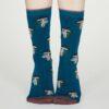 Thought dámské bambusové ponožky ibot modré