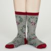 Thought dámské bambusové ponožky adella šedé