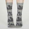 Thought dámské bavlněné ponožky godelena šedé