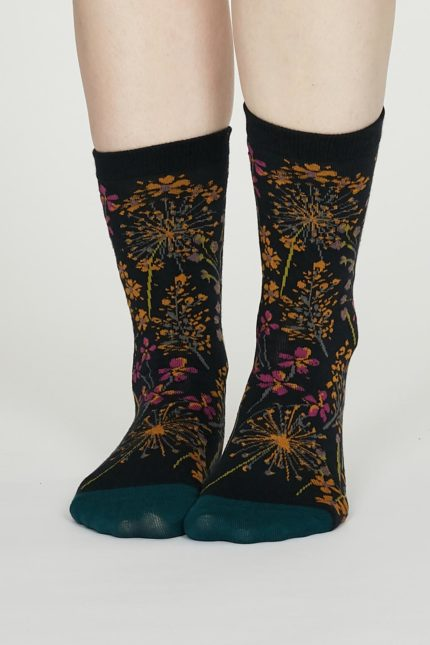 Thought dámské bavlněné ponožky amice modré