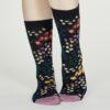 Thought dámské bambusové ponožky blossom modré