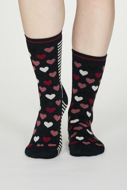 Thought dámské bambusové ponožky eileen modré