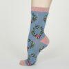 Thought dámské bambusové ponožky adella modré