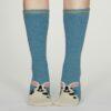 Thought dámské teplé ponožky rebecca modré