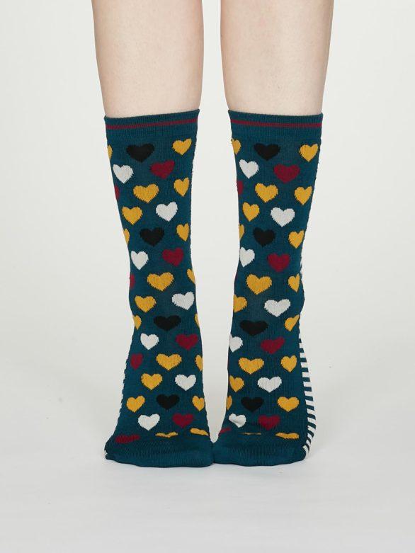 Thought dámské bambusové ponožky eileen zelené