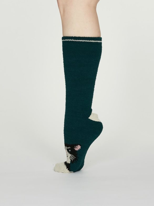 Thought dámské teplé ponožky rebecca zelené