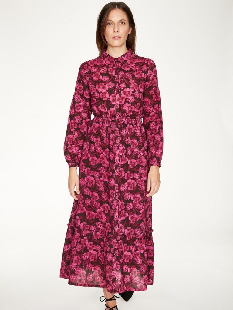 Thought košilové šaty z bio bavlny delville
