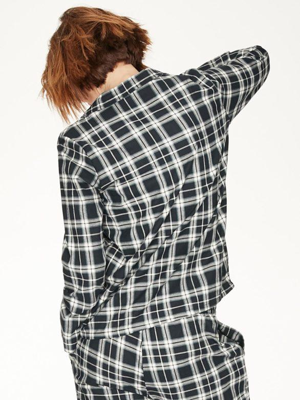 Thought pyžamová košile z bio bavlny tehran