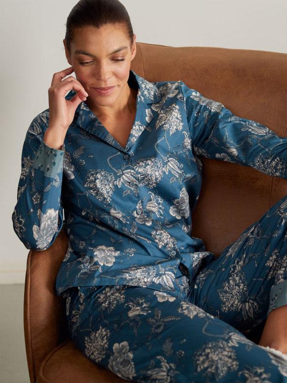 Thought pyžamová košile z bio bavlny ellis