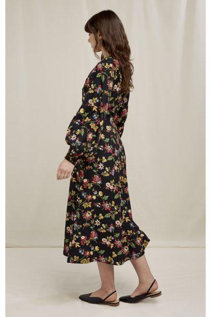 People Tree tencelové šaty v&a jardin