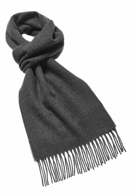 rt p lambswool plain scarf dark moss