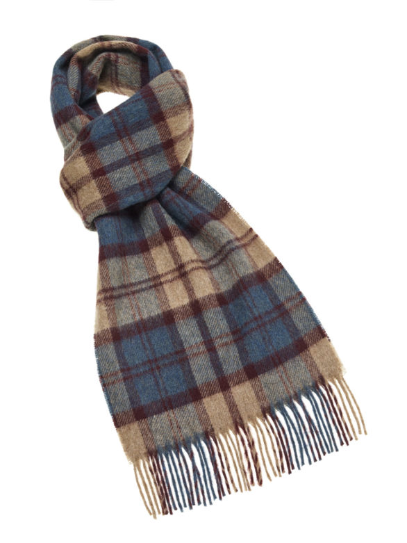 s p lambswool country scarf hereford teal e
