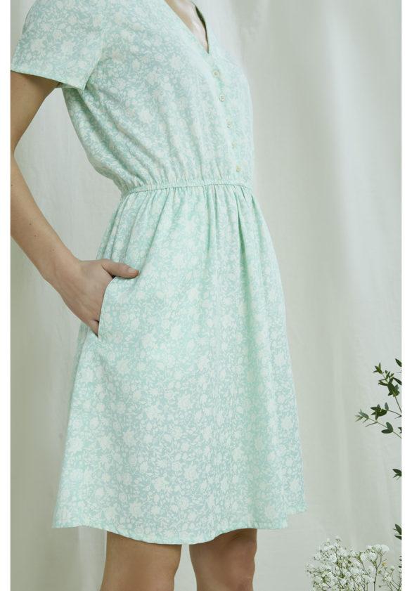 People Tree tencelové šaty laura
