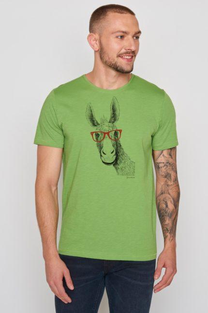 Greenbomb tričko donkey zelené