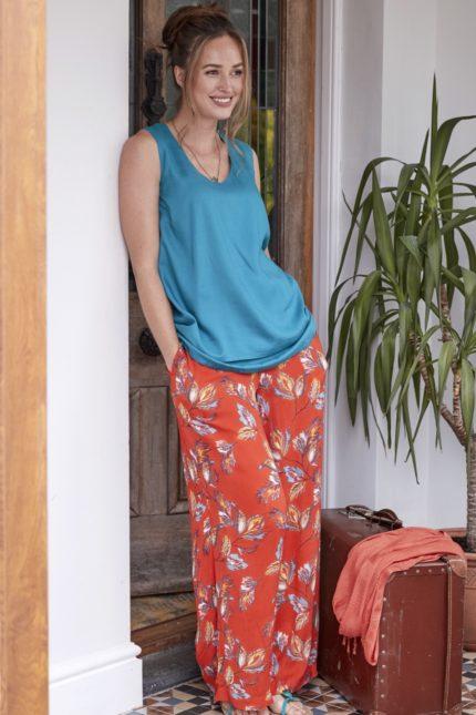 Nomads Široké kalhoty aquarelle