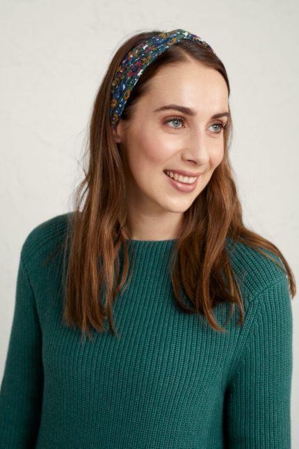 Seasalt Cornwall headband vintage flowers mix