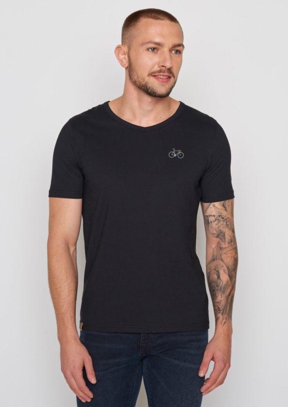 Greenbomb tričko bike sprint černé
