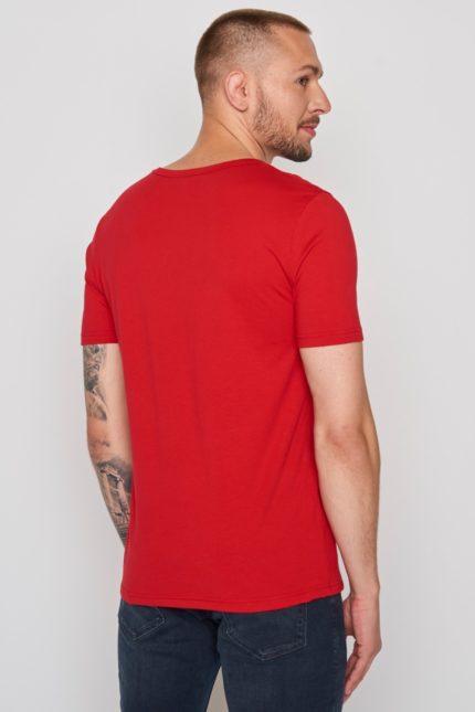Greenbomb tričko bike sprint červené
