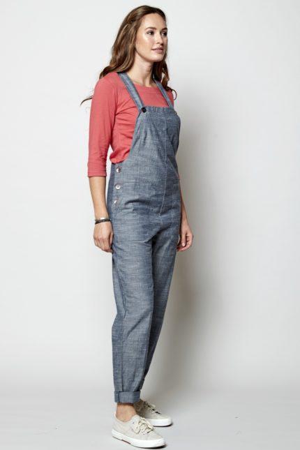 Nomads kalhoty s laclem chambray