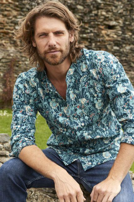 Nomads pánská košile s dlouhým rukávem hepworth