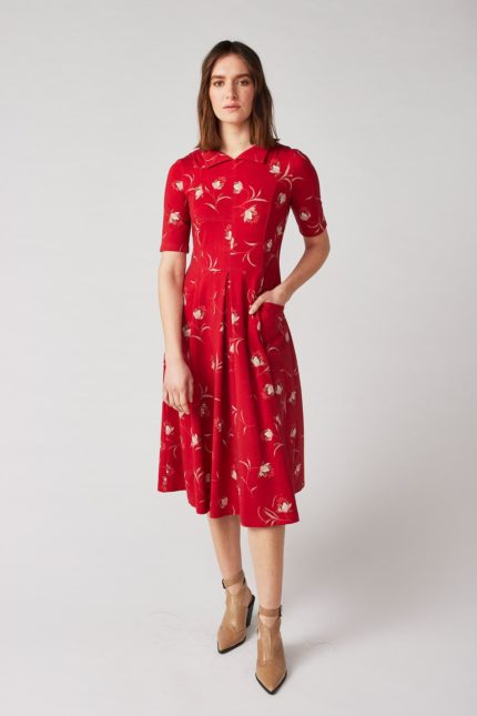 Lana Šaty himiko magnolia červené