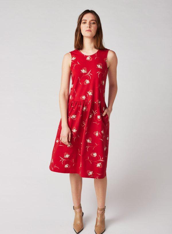 Lana Šaty leni červené