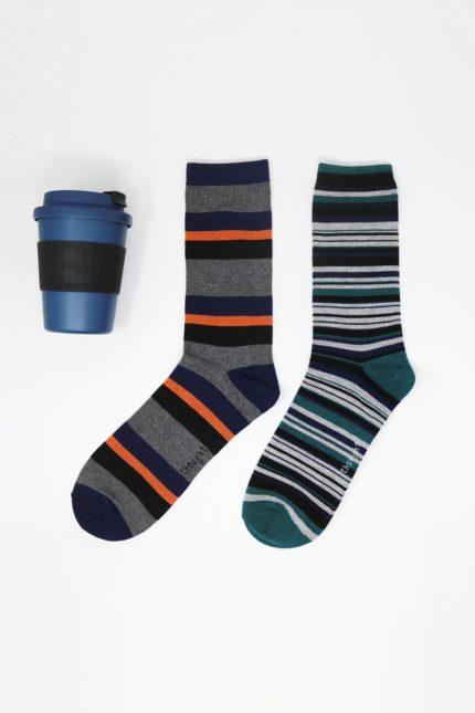 Thought dárkové balení hrníčku a pánských ponožek jude