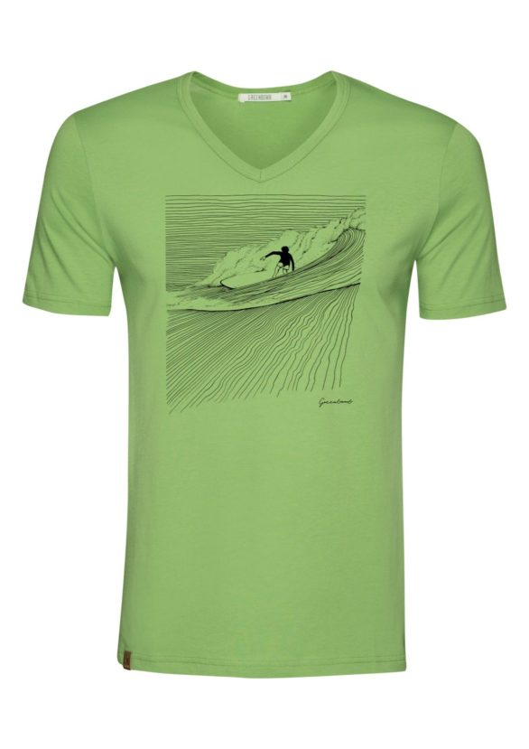 Greenbomb tričko nature surfer zelené