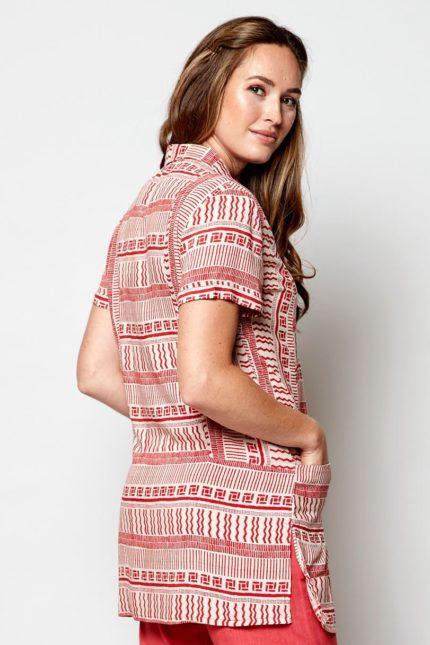 Nomads tencelová tuniková košile zen
