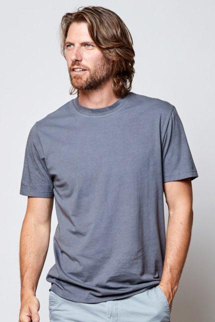 Nomads pánské tričko šedé z bio bavlny