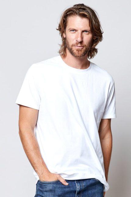 Nomads pánské tričko bílé z bio bavlny