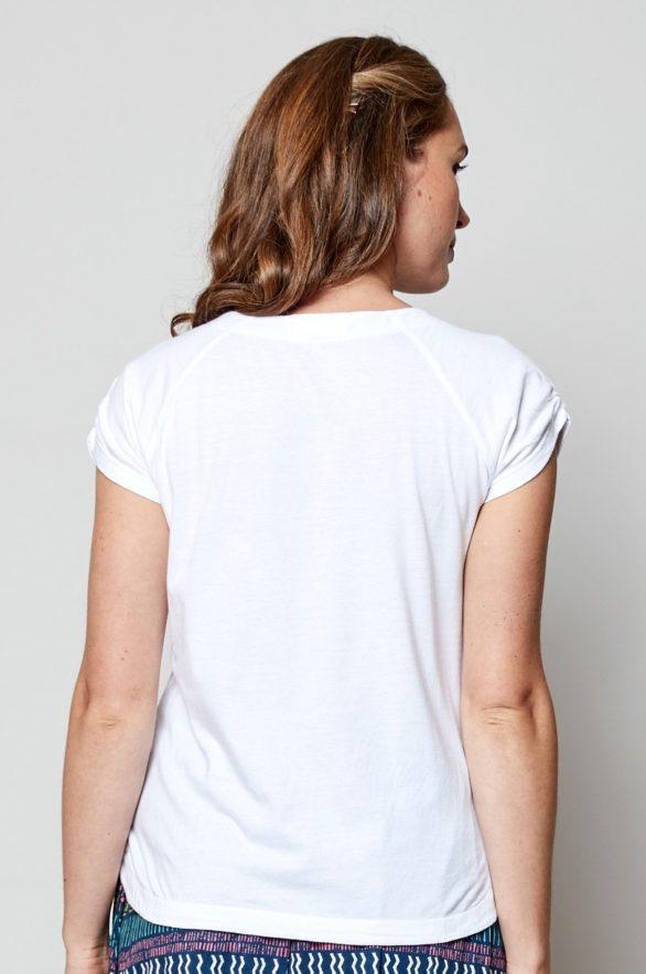 Nomads top bílý z bio bavlny