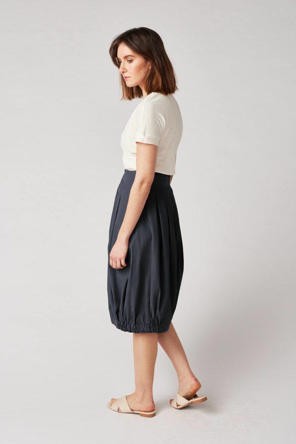 Lana sukně yun modrá z bio bavlny