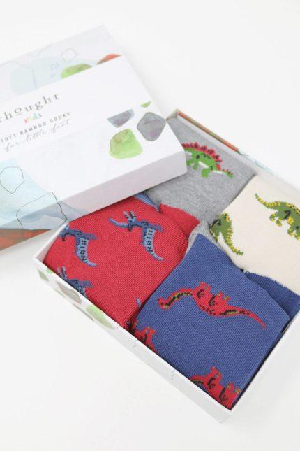 Thought dárkové balení dětských ponožek extinct kids