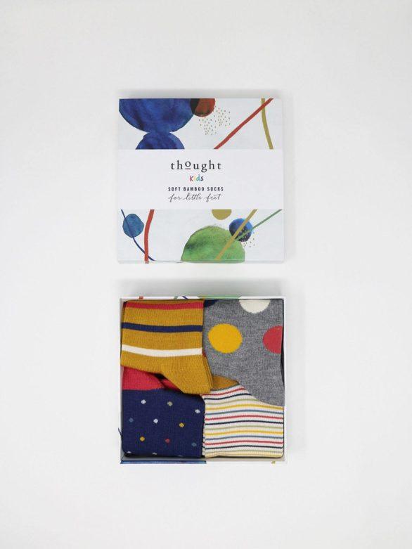 Thought dárkové balení dětských ponožek shay kids
