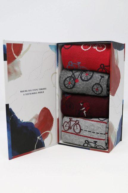 Thought dárkové balení pánských ponožek mycah bicycle