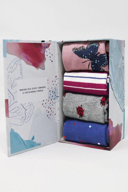 Thought dámské dárkové balení ponožek ellie wildlife
