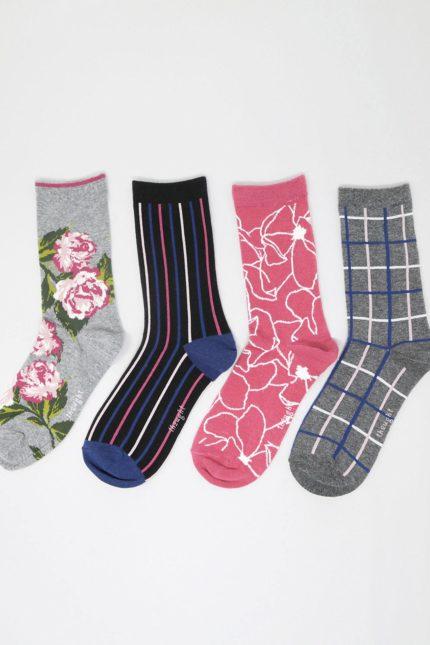 Thought dámské dárkové balení ponožek helene floral