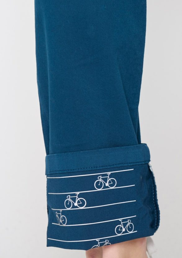 Greenbomb dámské kalhoty splendid modré
