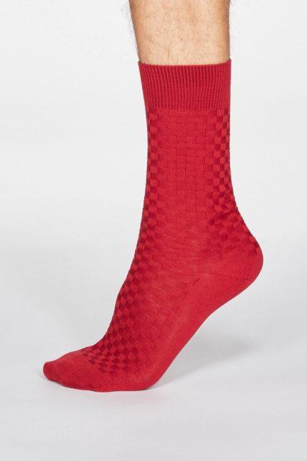 Thought pánské ponožky cameron černé
