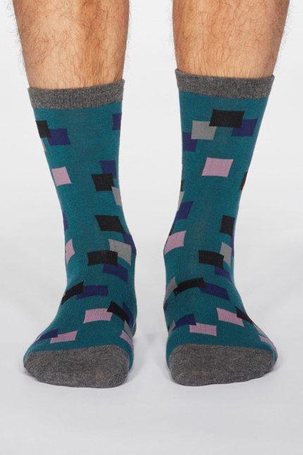 Thought pánské ponožky evan černé
