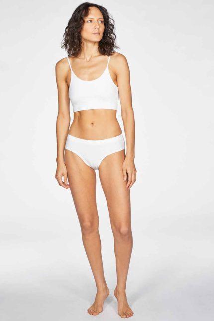Thought kalhotky leah bílé z bio bavlny